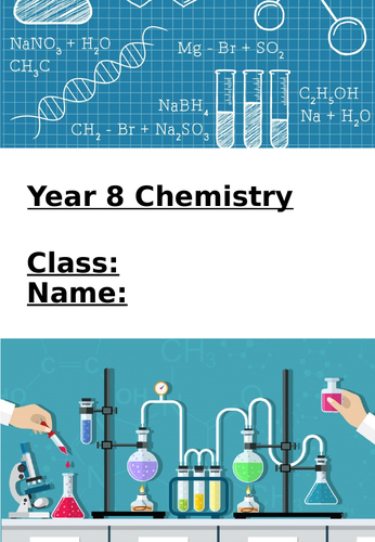 Chemistry (atomic structure, periodic table and chemical reactions) home-learning booklet