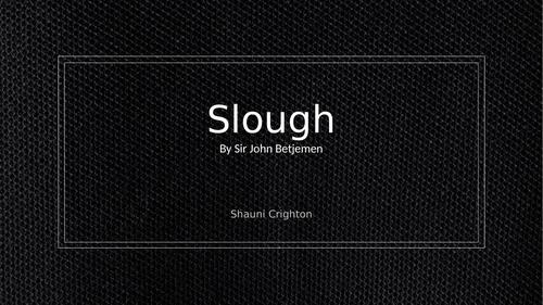 Slough - Sir John Betjemen