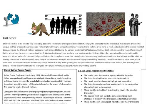 Detective Fiction Context Pack