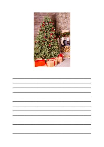 Christmas / Winter Descriptive Writing
