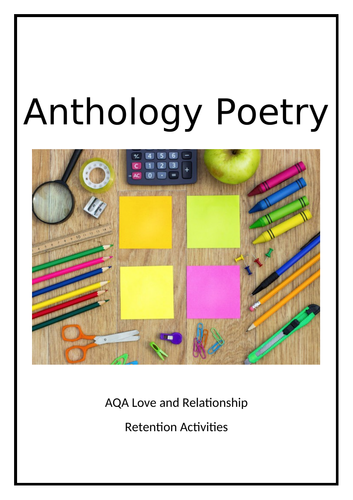 AQA Love and Relationships Revision