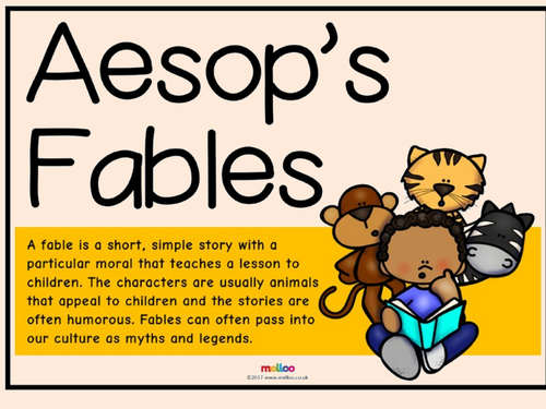 Aesop's Fables Shared Reading Powerpoint (Yr 3/4)