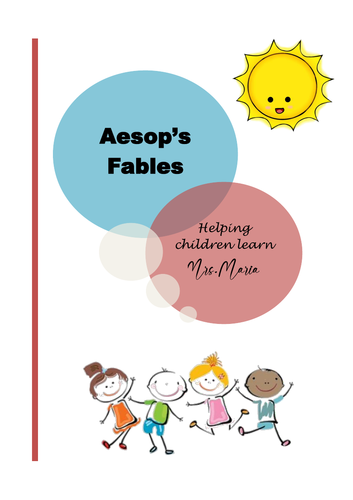 Aesop's Fables, short stories with questions