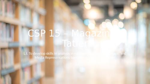 AQA CSP Magazines, Reveal, Tatler