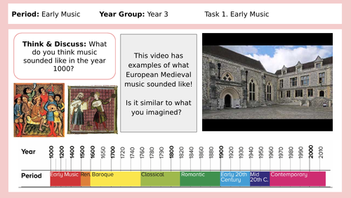 KS2 History of Music: Early Music