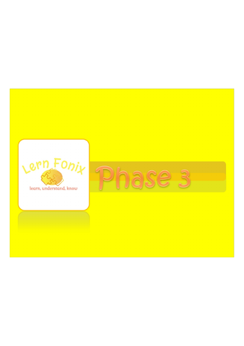 Lern Fonix Phase 3 Activinspire flipchart