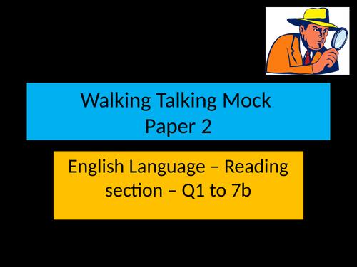 Edexcel English Language Paper 2 Walking Talking Mock