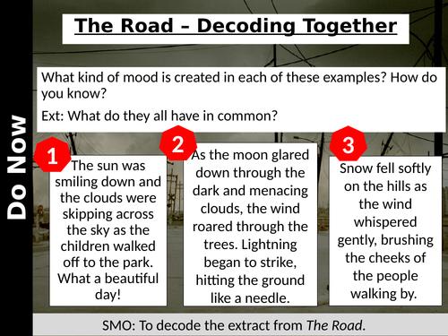 Language Paper 1 - The Road