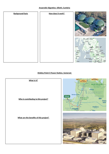 Hinkley Point C and Anaerobic Digestion OCR A