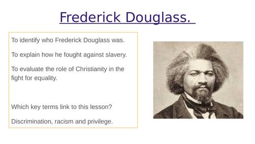 Frederick Douglass lesson KS3