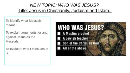 Jesus in Abrahamic religions KS3