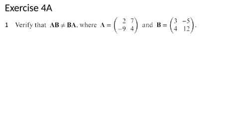 9231_FP1_Ex 4A_Matrices 1_Solutions
