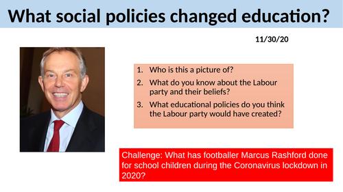 GCSE Sociology Education - L3. Social Policies in Education