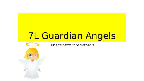 Guardian angels - Free secret santa form time activity