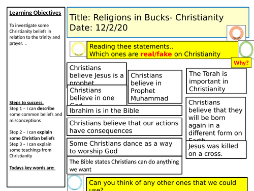 Religions in my area- KS3- lessons and scheme