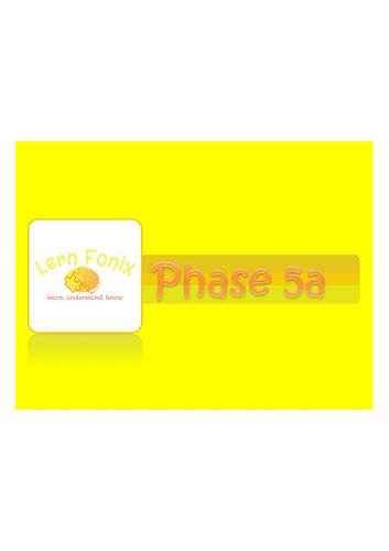 Lern Fonix Phase 5a flipchart