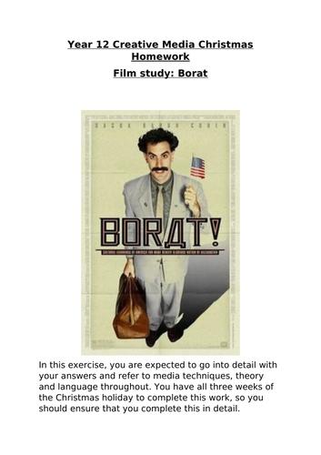 Media/Film Studies - Borat