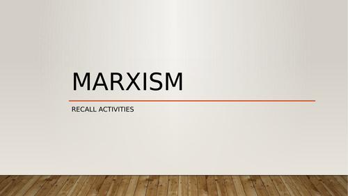 A Level Criminology- Revision of Marxism and Crime & Deviance