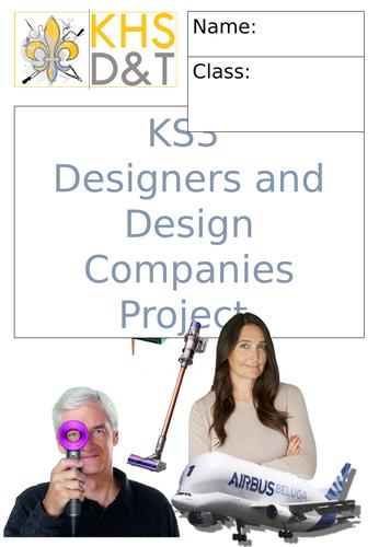 KS3 Designers Booklet