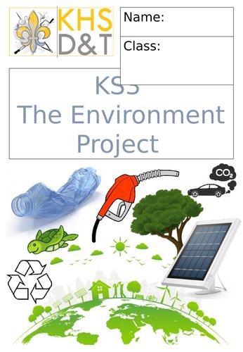 KS3 Sustainability Project