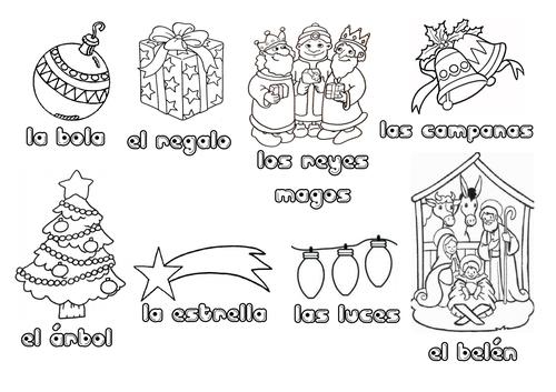 SPANISH-Caja de la Navidad