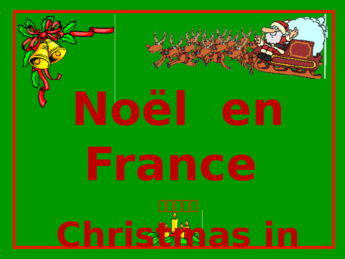 Christmas in France - Noël en France