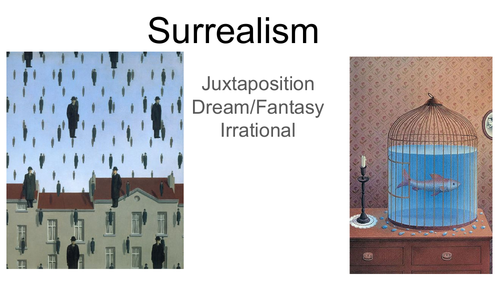 Surrealism series of lessons