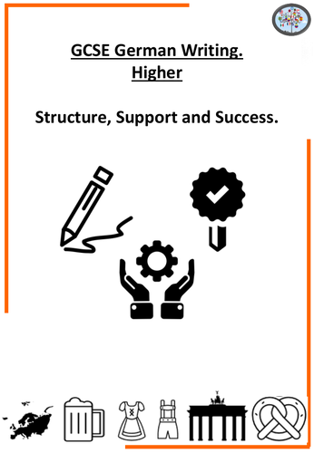 GCSE Writing structures and support workbook - higher