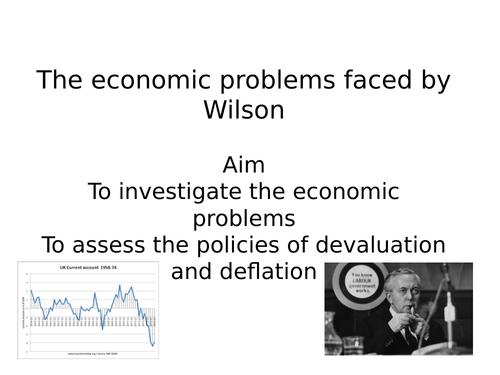 AQA A level modern Britain, 1951-2007, Wilson's economic policy