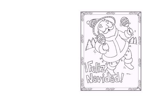 Spanish Christmas Card Designs
