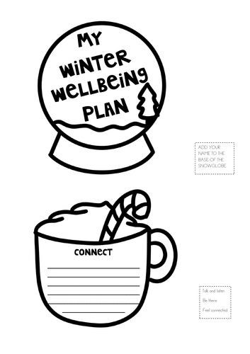Winter Wellbeing Plan - Wreath
