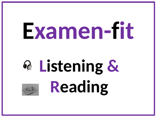 GCSE French exam fit - Advice for the reading and listening exam for 2021