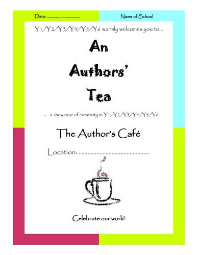 Authors' Tea - Parent & Pupil Event - Celebration of Work!!