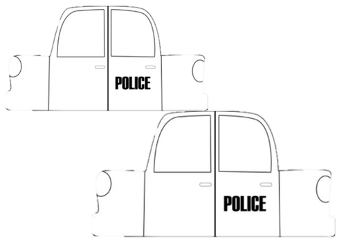 Design Your Own Police Car Craft
