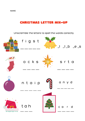 Christmas letter mix-up
