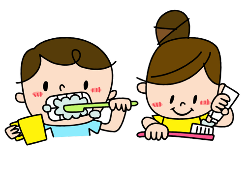 Cleaning Teeth Picture Pack