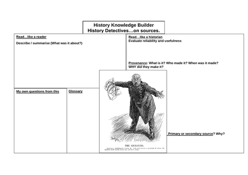 Knowledge Builder Why WW2 began using sources