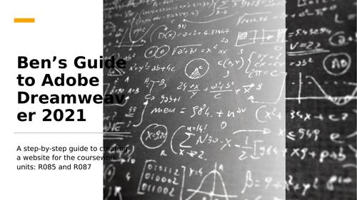 Guide to Adobe Dreamweaver 2021