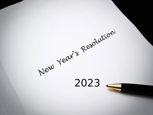 New Year's Resolution 2021
