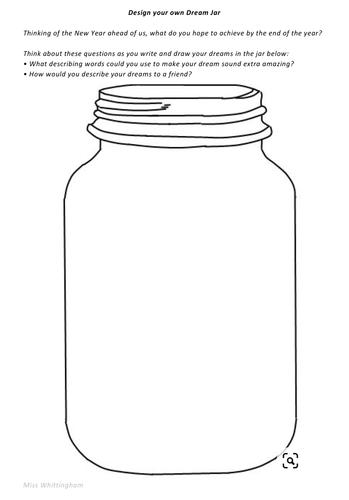 Design your own Dream Jar