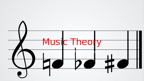 Accidentals - Distance Learning - Music Theory