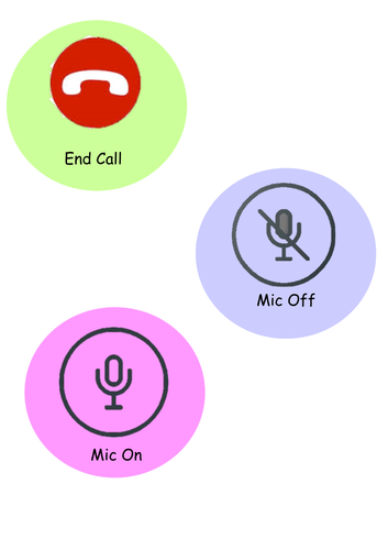 Teams Meeting Symbols(Editable)