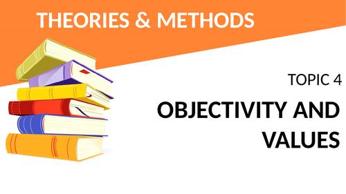 AQA Sociology Theory and Methods - Objectivity & Values