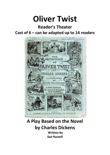 Oliver Twist  Reader's Theater or guided reading adaptation
