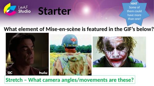 Mise En Scene SOW - Media Studies Film Studies