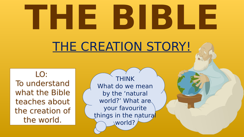The Bible - The Creation Story!