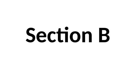 Dance GCSE Section B tips practice example exams technique practice AQA KS4 KS3