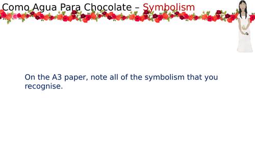 Como Agua Para Chocolate - Symbolism