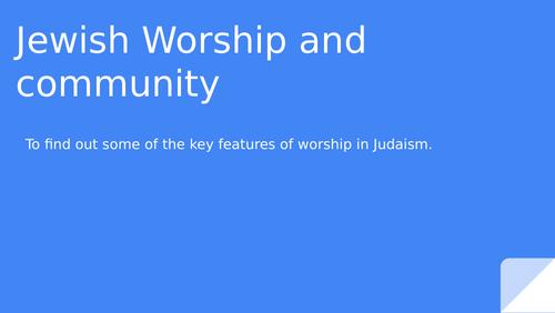 Judaism worship