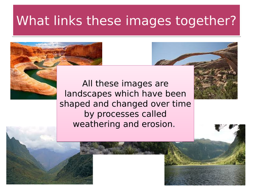 KS3 Geography Rivers SOW Scheme of Work with resources